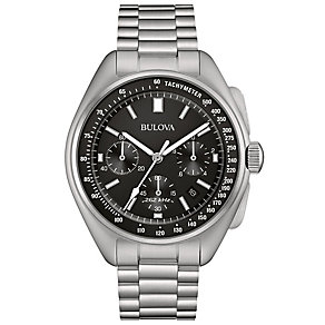 Bulova Moon Men's Stainless Steel Bracelet Watch - Product number 5293200