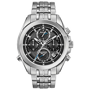 Bulova Precisionist Men's Stainless Steel Bracelet Watch - Product number 5293227