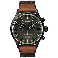 Timex The Waterbury Men's Grey Fabric Strap Watch - Product number 5295149