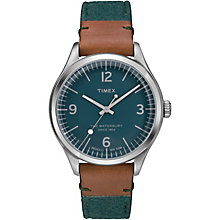 Timex The Waterbury Men's Green Fabric Strap Watch - Product number 5295165