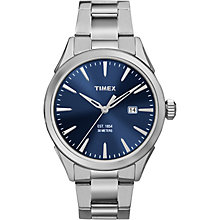 Timex Men's Blue Dial Stainless Steel Bracelet Watch - Product number 5295211