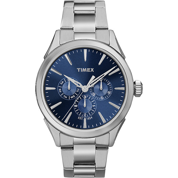 Timex Men's Chronograph Dial Stainless Steel Bracelet Watch - Product number 5295238