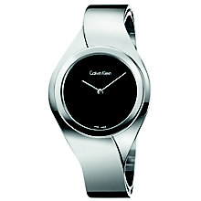 Calvin Klein Senses Ladies' Stainless Steel Bracelet Watch - Product number 5295564
