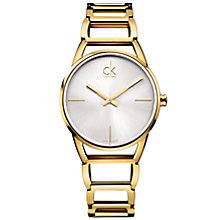 Calvin Klein Stately Ladies' Gold-Plated Bracelet Watch - Product number 5295599