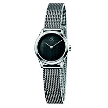 Calvin Klein Minimal Ladies' Steel Mesh Bracelet Watch - Product number 5296102