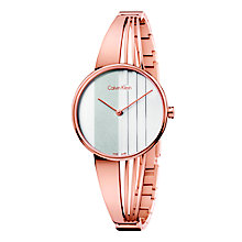 Calvin Klein Drift Ladies' Rose Gold-Plated Bracelet Watch - Product number 5296226