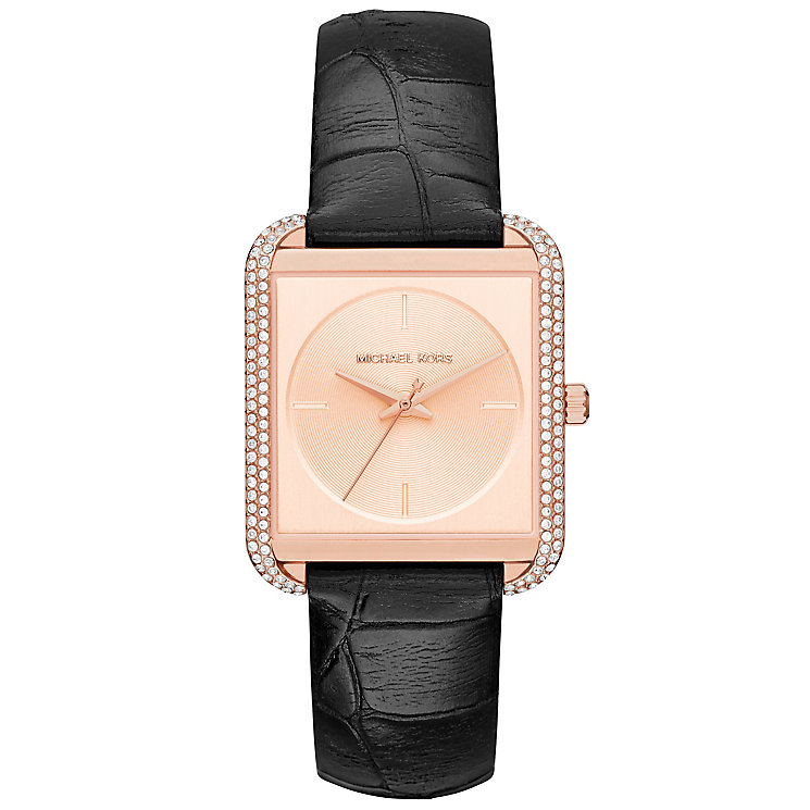 Michael Kors Ladies' Rose Gold Tone Strap Watch - Product number 5296315