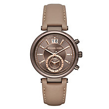 Michael Kors Ladies' Ion Plated Strap Watch - Product number 5296374