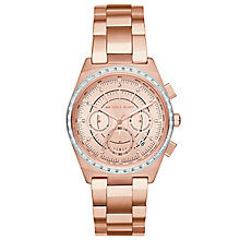 Michael Kors Vail Rose Gold Tone Bracelet Watch - Product number 5296455