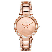 Michael Kors Ladies' Rose Gold Tone Bracelet Watch - Product number 5296498