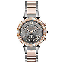 Michael Kors Ladies' Two Colour Bracelet Watch - Product number 5296552