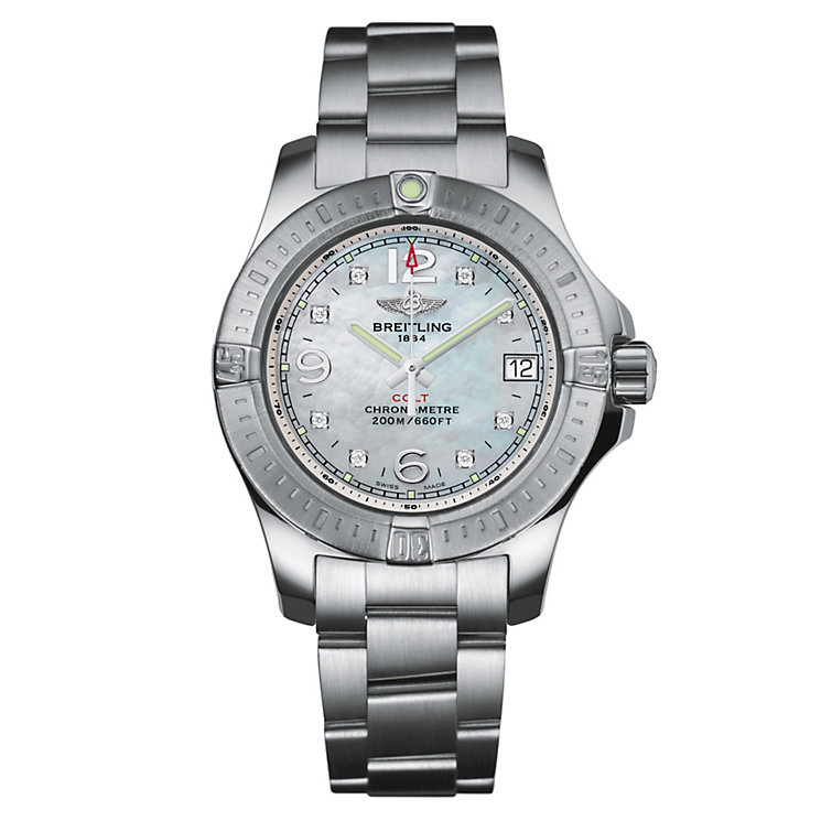 Breitling Colt Lady Ladies' Stainless Steel Bracelet Watch - Product number 5297737