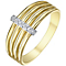 9ct Gold Diamond Set Eternity Ring - Product number 5297923