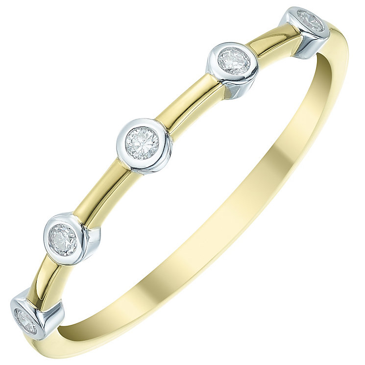 9ct Gold Diamond Eternity Ring - Product number 5298482