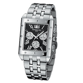 Raymond Weil men's chrome bracelet watch - Product number 5301513