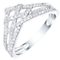 9ct White Gold 1/4ct Diamond Ring - Product number 5303109