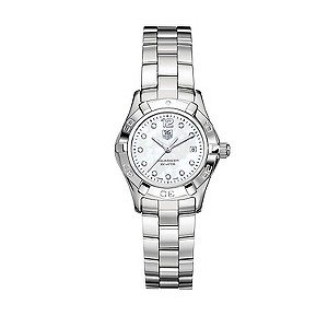 TAG Heuer Aquaracer ladies' stainless steel diamond watch - Product number 5307236