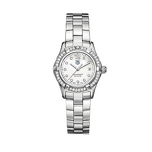 TAG Heuer Aquaracer ladies' stainless steel diamond watch - Product number 5307546