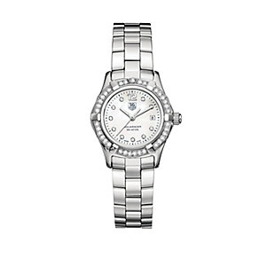 TAG Heuer Aquaracer ladies' stainless steel bracelet watch - Product number 5307546