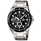 Casio Gent's Black Stainless Steel Bracelet Watch - Product number 5312965