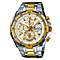 Casio Gent's Two Tone Stainless Steel Bracelet Watch - Product number 5312973