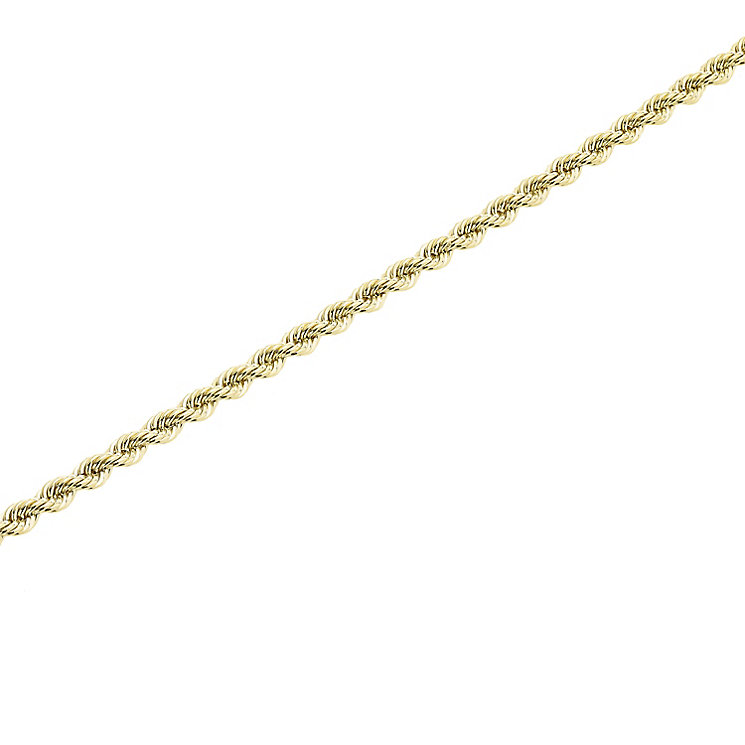 "9ct Gold 30"" 60 Gauge Hollow Rope Chain - Product number 5320178"