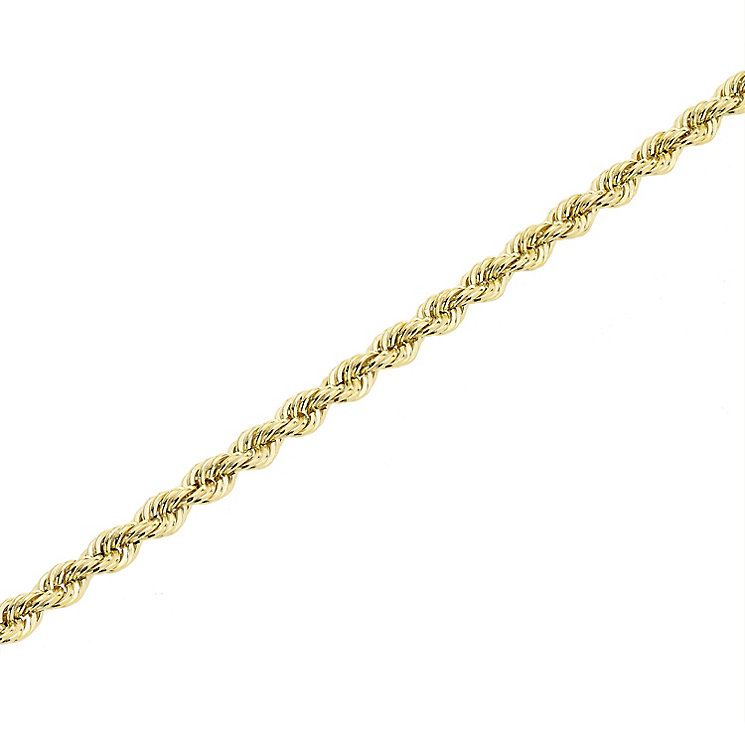 "9ct Gold 28"" 70 Gauge Hollow Rope Chain - Product number 5320194"