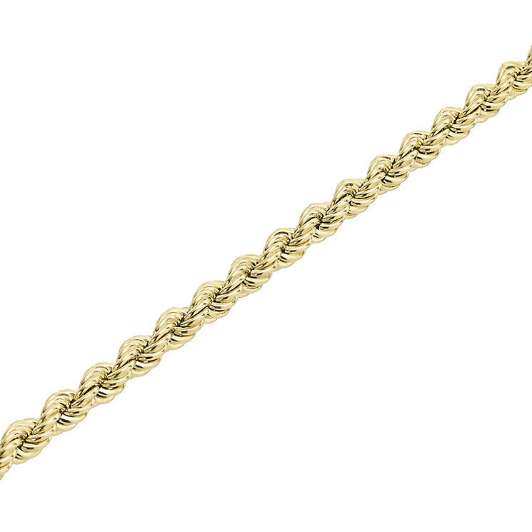 "9ct Gold 30"" 90 Gauge Hollow Rope Chain - Product number 5320267"