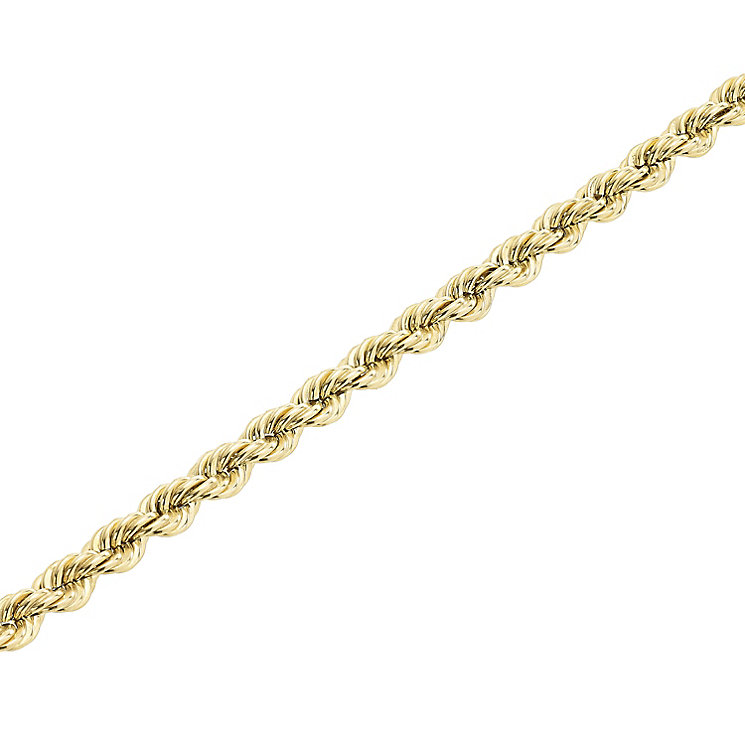 "9ct Gold 28"" 100 Gauge Hollow Rope Chain - Product number 5320275"
