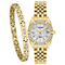 Citizen Ladies' Gold Plated Mother of Pearl Bracelet Watch - Product number 5320372