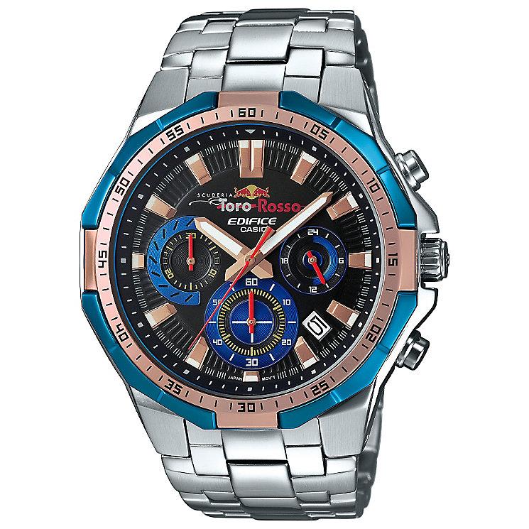 Casio Edifice Scuderia Toro Rosso Men's Bracelet Watch - Product number 5320585