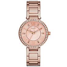 Relic Isabelle Stone Set Rose Gold-Plated Bracelet Watch - Product number 5321107