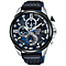 Pulsar Men's Chronograph Black Leather Strap Watch - Product number 5321263