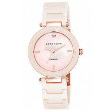 Anne Klein Ladies' Pink Ceramic Bracelet Watch - Product number 5321476