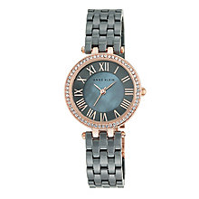 Anne Klein Ladies' Grey Ceramic Bracelet Watch - Product number 5321603