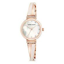 Anne Klein Ladies' Two Tone Rose Gold Plated Bracelet Watch - Product number 5321638