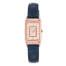 Anne Klein Ladies' Navy Leather Strap Watch - Product number 5321670