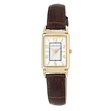 Anne Klein Ladies' Brown Leather Strap Watch - Product number 5321697