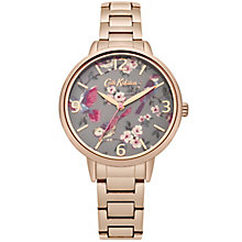 Cath Kidston Ladies' Rose Gold Plated Bracelet Watch - Product number 5321824