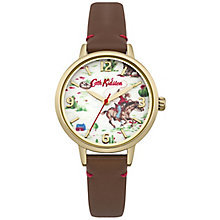 Cath Kidston Ladies' Tan Leather Strap Watch - Product number 5321905