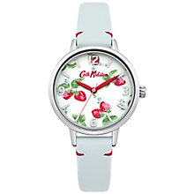 Cath Kidston Ladies' Blue Leather Strap Watch - Product number 5321913