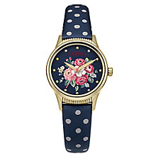 Cath Kidston Ladies' Navy PU Strap Watch - Product number 5321999