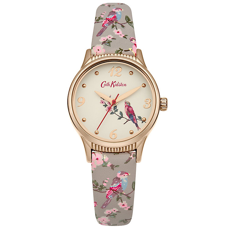 Cath Kidston Ladies' Grey PU Strap Watch - Product number 5322022