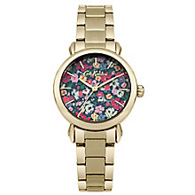 Cath Kidston Ladies' Gold Plated Bracelet Watch - Product number 5322030