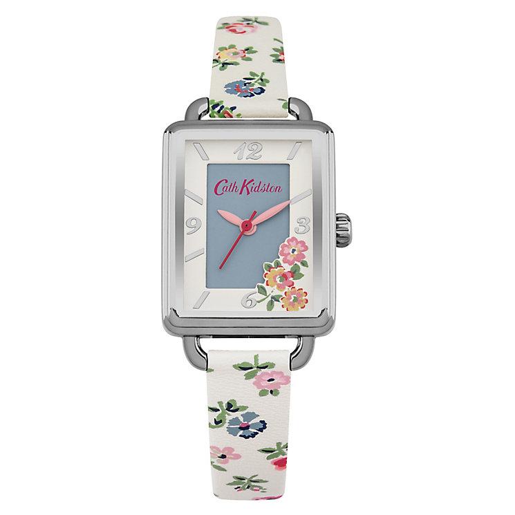 Cath Kidston Ladies' Cream PU Strap Watch - Product number 5322065