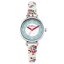 Cath Kidston Ladies' Cream PU Strap Watch - Product number 5322081