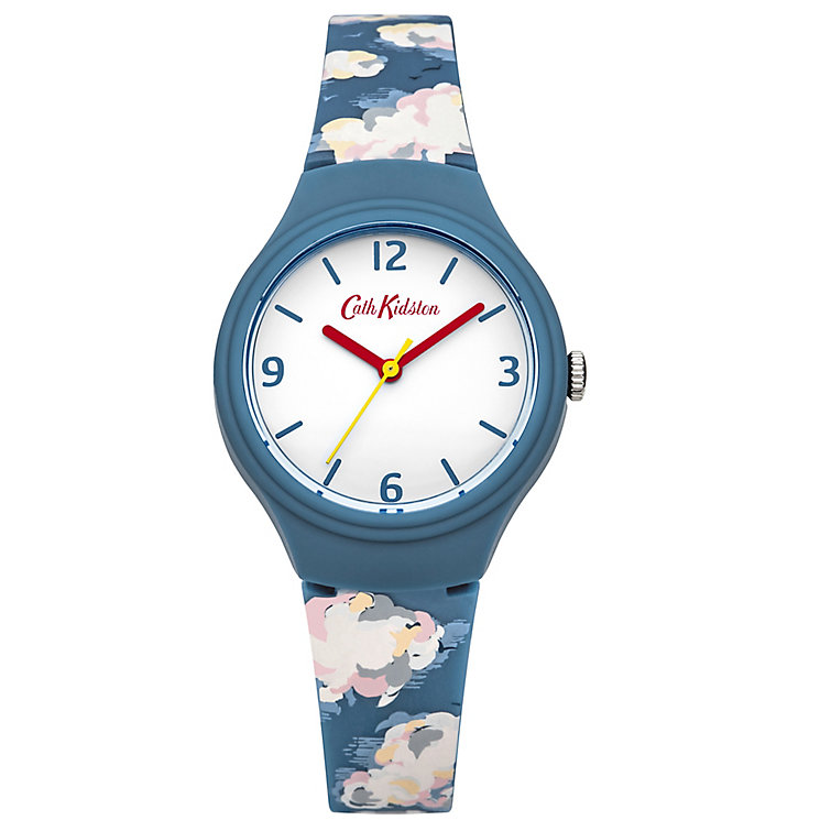 Cath Kidston Ladies' Blue Silicone Strap Watch - Product number 5322111