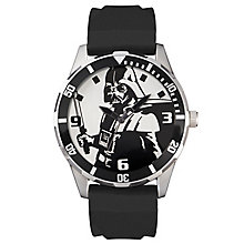 Star Wars Darth Vader Black Silicone Strap Watch - Product number 5322227