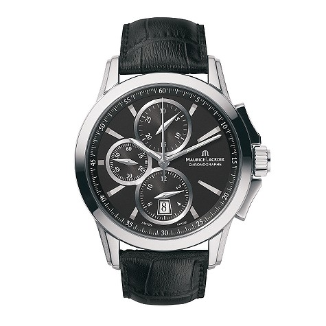 Maurice Lacroix Pontos Mens Automatic Chronograph Watch My Designer Watches Mens And Ladies