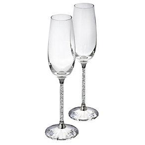 Swarovski Crystal Champagne Flutes - Product number 5323088
